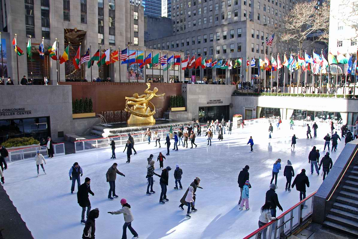 Attractive New York City Rockefeller Center